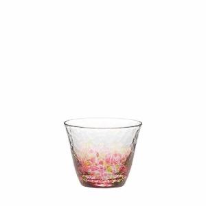 酒品配件-Accessories-日本木本硝子-津輕びいどろ-花の彩-1個入-CN17703-D05-清酒杯-清酒十四代獺祭專家