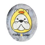 MissPet 寵物夏日降溫冰涼墊 直徑約35cm 黃鴨狗狗 貓犬用日常用品 床類用品 寵物用品速遞