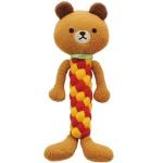 日本Bonbi ILOVEPETS Dental Animal 狗狗護齒玩具 熊熊 一個入 狗狗玩具 Bonbi ILOVEPETS  ボンビアルコン 寵物用品速遞