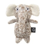 日本FAD 狗狗針織發聲玩具 小象 一個入 狗狗玩具 FAD ファッド 寵物用品速遞