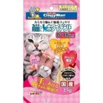 日本CattyMan 貓小食 白色潔齒條 鰹魚味 25g 貓小食 CattyMan 寵物用品速遞