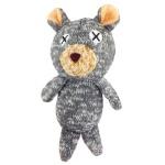 日本FAD 狗狗針織發聲玩具 小熊 一個入 狗狗玩具 FAD ファッド 寵物用品速遞