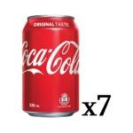 可口可樂 原味 Coca-Cola 330ml 七罐入(TBS) 生活用品超級市場 飲品