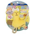 日本DoggyMan 蝴蝶結草泥馬公仔 狗狗玩具 其他 寵物用品速遞