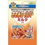 日本DoggyMan 狗小食 雞肉卷牛奶棒 70g 狗小食 DoggyMan 寵物用品速遞