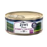 ZiwiPeak 貓罐頭 兔肉及羊肉配方 Rabbit & Lamb 85g (CCRL85) 貓罐頭 貓濕糧 ZiwiPeak 寵物用品速遞