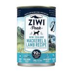 ZiwiPeak巔峰-ZiwiPeak-狗罐頭-鯖魚及羊肉配方-Mackerel-Lamb-Recipe-390g-CDML-ZiwiPeak-寵物用品速遞