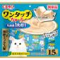 CIAO-貓零食-日本-One-Touch-1兆個乳酸菌肉泥杯-鰹魚海鮮味-13g-15個入-SC-316-CIAO-INABA-貓零食