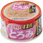 CIAO 日本貓罐頭 とろみ 11歲以上 金槍魚+雞肉+扇貝 80g (紅粉) (A-46) 貓罐頭 貓濕糧 CIAO INABA 寵物用品速遞