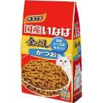 日本INABA 金のだし 貓糧 鰹魚 1kg (紅藍) (P-91) 貓糧 CIAO INABA 寵物用品速遞