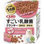 CIAO 貓糧 日本1兆個乳酸菌 子貓用 金槍魚雜錦 20g 10袋入 (粉肉) (P-244) 貓糧 CIAO INABA 寵物用品速遞