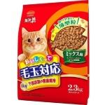 Mio三才-日本Mio三才-特選去毛球貓糧腎臟及下部尿路健康維持配方魚-雞肉-柴魚片味-2_3kg-紅色-Mio三才-寵物用品速遞