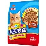 日本Mio三才 特選去毛球貓糧腎臟及下部尿路健康維持配方柴魚味 2.3kg (藍色) 貓糧 Mio三才 寵物用品速遞