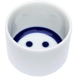 酒品配件-Accessories-日本直送-豬口杯-蛇の目微笑臉Smiley-1個入-清酒杯-清酒十四代獺祭專家