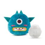 可愛搞鬼外星生物發聲震動毛絨玩具 (藍綠色) 狗狗玩具 其他 寵物用品速遞