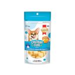 SmartHeart 車打芝士 北海道牛乳風味 Cheddar Cube Hokkaido Milk 50g (SD/HM50) 狗小食 SmartHeart 寵物用品速遞