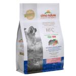 Almo Nature HFC 幼犬糧 新鮮鱸魚鯛魚 細粒 Fresh Sea Bass & Sea Bream 1.2kg (9250) 狗糧 Almo Nature 寵物用品速遞