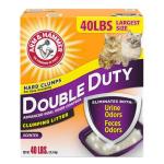 礦物貓砂 ARM & HAMMER 貓砂 特強除臭配方 Double Duty 40lbs (02408) 貓砂 礦物貓砂 寵物用品速遞