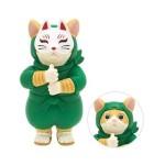 日本直送 貓公仔擺設 忍者貓幪面俠 Ninja Cat (綠色 面具可拆除) 2枚入 生活用品超級市場 貓咪精品