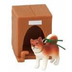 日本直送 狗公仔擺設 啡柴犬和牠的狗屋 2枚入 生活用品超級市場 狗狗精品