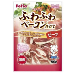 Petio 狗小食 日本產濃厚煙燻牛肉片 80g (90501434) 狗小食 Petio 寵物用品速遞