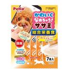 Petio 狗小食 綜合營養 日本產低脂雞胸肉醬 健康腸道 水分補充 7支裝 (90502449) 狗小食 Petio 寵物用品速遞