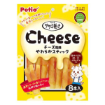Petio 狗小食 低脂高蛋白 柔軟可口 雞胸肉芝士卷 8支裝 (90502320) 狗小食 Petio 寵物用品速遞