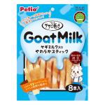 Petio 狗小食 低脂高蛋白 柔軟可口 雞胸肉山羊奶卷 8支裝 (90502321) 狗小食 Petio 寵物用品速遞