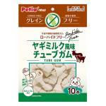 Petio 狗小食低敏無穀物 山羊奶風味 植物性軟潔齒骨 10條裝 (90502444) 狗小食 Petio 寵物用品速遞