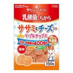 Petio 日本產 乳酸菌 低脂雞胸肉芝士圓片 腸道健康 120g (90502550) 狗小食 Petio 寵物用品速遞