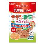 Petio 日本產 乳酸菌 低脂雞胸肉蔬菜圓片 腸道健康 180g (90502551) 狗小食 Petio 寵物用品速遞