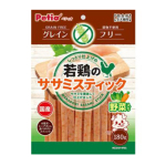 Petio 日本產 高纖低敏無穀物 柔嫩蔬菜雞胸肉條 腸胃健康 180g (90502555) 狗小食 Petio 寵物用品速遞