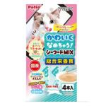 Petio 貓小食綜合營養 日本產混合海鮮醬 腸道健康 水分補充 4支裝 (90602455) 貓小食 Petio 寵物用品速遞