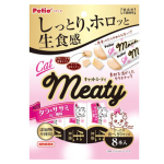 Petio 貓小食 無添加生食感 蟹肉味&鱈魚&雞胸 肉醬 8支裝 (90602326) 貓小食 Petio 寵物用品速遞