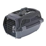 Petio 寵物雙門手提籠 黑色 S (91601521) 貓犬用日常用品 寵物籠 寵物用品速遞