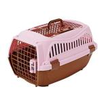 Petio 寵物雙門手提籠 粉色 M (91601403) 貓犬用日常用品 寵物籠 寵物用品速遞