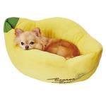 Petio 貓狗用冷感可手洗寵物床 香蕉 (貓狗用) (91602826) 貓犬用日常用品 床類用品 寵物用品速遞
