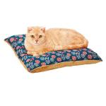 Petio 貓小町日式鬆軟 可手洗睡墊 鞠花紋 (貓用) (91602362) 貓咪日常用品 床類用品 寵物用品速遞