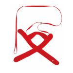 Petio 田園風柔軟胸帶牽引繩 紅色 S (貓用) (91601894) 貓咪日常用品 其他 寵物用品速遞