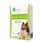 晴明 Opti vision 膠囊 60粒 貓犬用 貓犬用保健用品 寵物用品速遞
