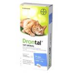Drontal Cat 杜蟲丸 8粒 (貓用) 貓咪保健用品 杜蟲殺蚤用品 寵物用品速遞