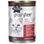 Fussy Cat無穀物免疫罐 牛肉 400g (啡) (TBS) 貓罐頭 貓濕糧 Fussy Cat 寵物用品速遞