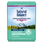 Natural Balance L.I.D. 無穀系 雞肉甜薯成犬糧 細粒 12lb 狗糧 Natural Balance 寵物用品速遞