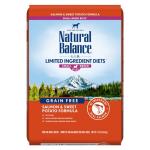 Natural Balance L.I.D. 無穀系 三文魚甜薯成犬糧 細粒 12lb 狗糧 Natural Balance 寵物用品速遞