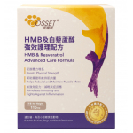 Cosset HMB及白藜蘆醇強效護理配方 115g (CS0074A) 貓犬用 貓犬用保健用品 寵物用品速遞