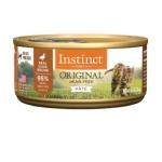 Instinct本能 ORIGINAL 無穀物鴨肉配方貓罐頭 Duck Formula 5.5oz (507369) 貓罐頭 貓濕糧 Instinct 本能 寵物用品速遞
