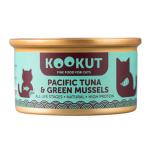 KOOKUT 天然貓罐 太平洋吞拿魚綠唇青口仔 70g (WCKUCW1010405) 貓罐頭 貓濕糧 KOOKUT 寵物用品速遞