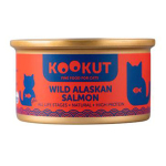KOOKUT 天然貓罐 野生阿拉斯加三文魚 70g (WCKUCW1008273) 貓罐頭 貓濕糧 KOOKUT 寵物用品速遞