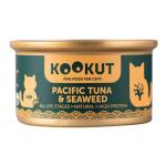 KOOKUT 天然貓罐 太平洋吞拿魚海藻 70g (WCKUCW1010429) 貓罐頭 貓濕糧 KOOKUT 寵物用品速遞