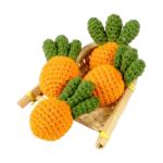 汪喵星球 鉤針紅蘿蔔貓草玩具 (PK446) 貓咪玩具 木天蓼 貓草 寵物用品速遞